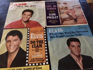 Elvis Presley 4 stk single