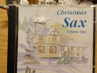 Christmas Sax Volume One