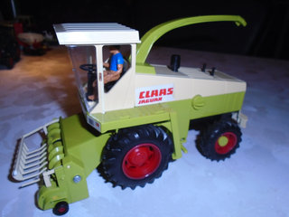 Britains Claas jaguar ( Power farm )