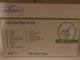 Klinion Soft fine penkanyle 4 x 0,23 mm
