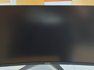 MSI curved 144Hz 1mS