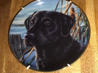 Franklin Mint Platte, Mans best friend