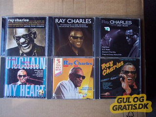 Ray Charles, Louis Armstrong  CDer