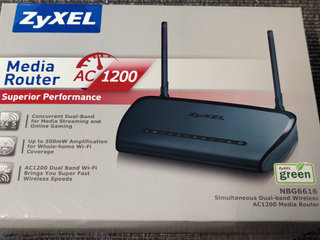Router, ZyXEL AC1200 Media NBG6616