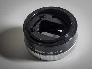 Canon FD Extension Tube FD 25/mellemring