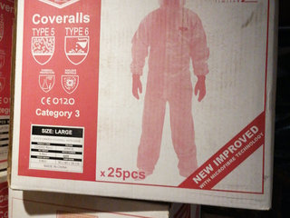 Engangsdragt candex coverall ny