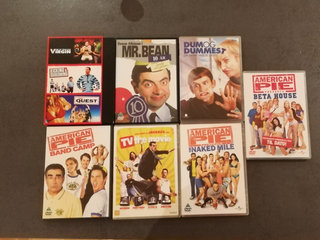 9 komediefilm Mr. Bean m.fl