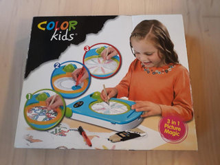 Color Kids 3 i 1 tegnemaskine