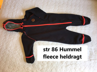 194) str 86 Hummel fleece heldragt