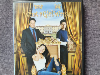 What a girl wants DVD