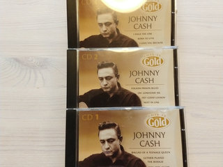3 CD-er Johnny Cash - Gold