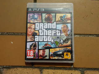 Grand Theft Auto V Five Playstation 3