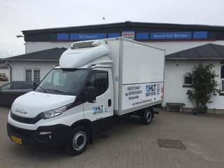Iveco Daily 2,3 35S16 Kølevogn m/lift