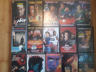 VCR/VHS Action Film.