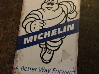 Michelin Retro skilte