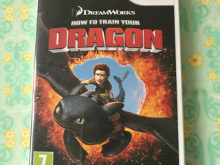Wii: How to train YOUR DRAGON, spil