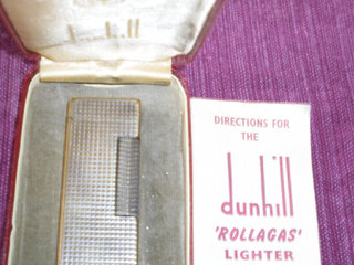 DUNHILL Rollagas Lighter.