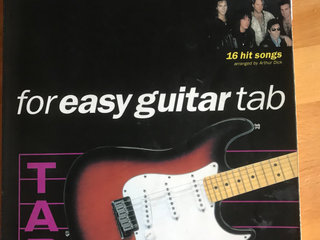 Bon Jovi noder for easy guitar tab