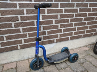 Blue Scooter løbehjul