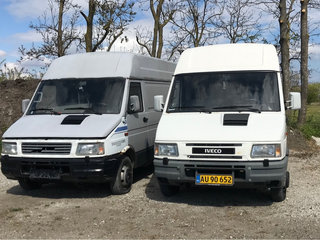 2 stk. Iveco 35.10