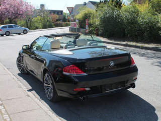 BMW 630i 3,0 Cabriolet Steptr.