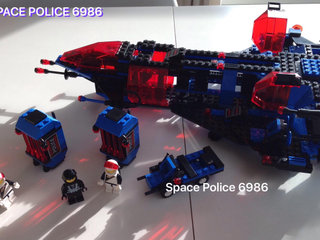 Space mission Commander 6986-1;  Mother-ship