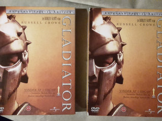 Gladiator, 2× 3-disc special edition dvd