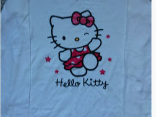 Hello Kitty nattøj