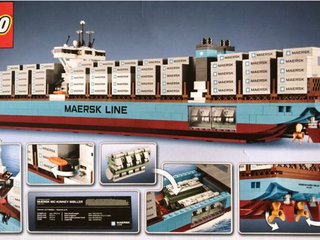 Lego 10241 - MAERSK containerskib