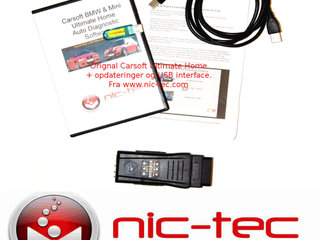 Original Carsoft BMW & Mini Ultimate Home incl opdateringer og USB interface