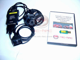 BMW & Mini Carsoft Ultimate Home Seriel incl original licens seneste version