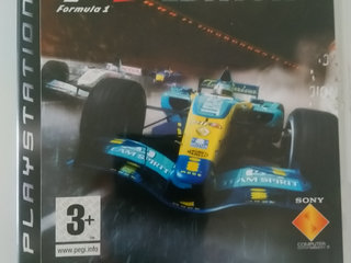"""PS 3 spil """"F1 championship edition"""