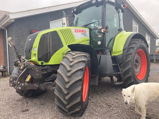 CLAAS AXION 820 CEBIS AFF FORAKSEL, FRONTLIFT