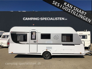 "2021 - Knaus Sport 500 EU Silver Selection   NYHED 2021 model! Knaus Sport 500 EU ""Silver Selection""  med enkeltsenge hos Camping-Specialisten.dk Silkeborg"