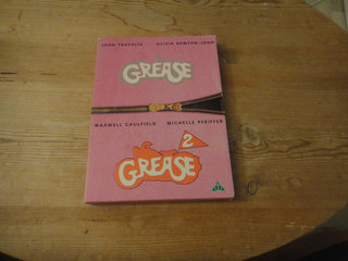 Luksus DVD-boks - Grease & Grease 2 - fin stand