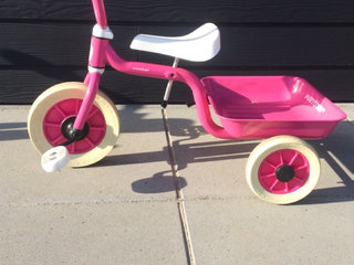 3 hjulet Winther cykel - pink