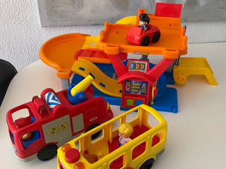 Fisher price little people med lyd