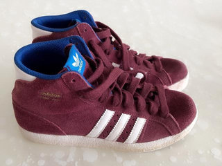 Adidas basketstøvler str uk4   36,5