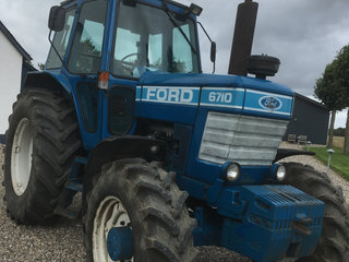Ford 6710 DP med turbo - flot stand.