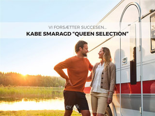 2021 - Kabe Smaragd 540 GLE KS   Nyhed Kabe QUEEN SELECTION 540 GLE/KS 2021 Hos Camping Specialisten.dk
