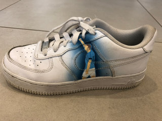 Custommade Nike Air Force sko - Manchester City