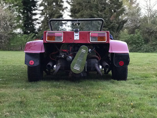 Berry Mini T2 buggy byttes - 5