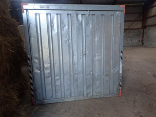 - - -  Opbevaringscontainer 2,0 x 2,5 m. - 3