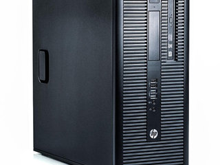 HP EliteDesk 800 G1 Tower  - Intel i7 4770 3,4GHz 256GB SSD + 500GB HDD 8GB Win10 Pro - Grade A - stationær computer