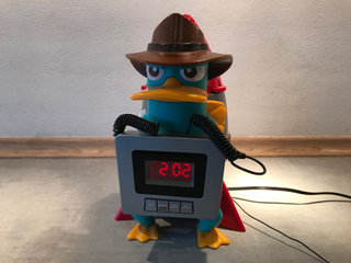 'Perry' clock-radio (Disney)