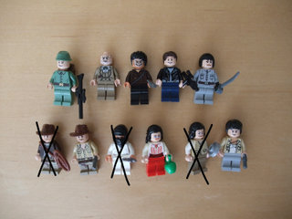 Lego Indiana Jones Figurer
