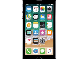 Apple iPhone SE 32GB (Space Gray) - Grade C - mobiltelefon