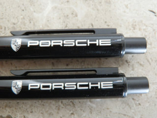 Original Porsche kuglepen i sort med soft-grip