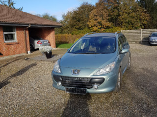 Fin 7-personers Peugeot 307 1,6 HDi
