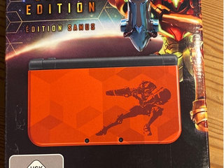 New Nintendo 3DS XL, Samus Edition